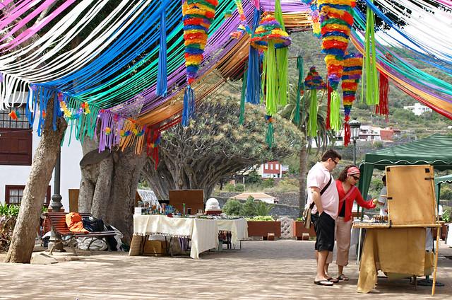 Plaza de la Constitución, Icod de los Vinos, Tenerife