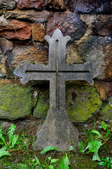 Cross in the countryside - Photo of Montet-et-Bouxal