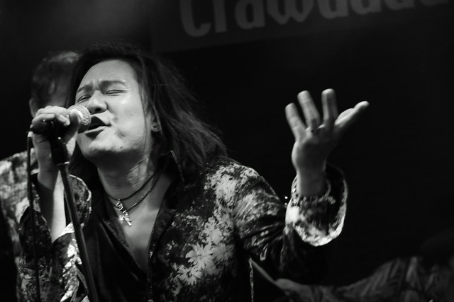 Molten Gold live at Crawdaddy Club, Tokyo, 12 Sep 2015. 050