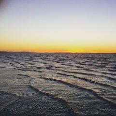 Sunset over Salt Lake #PNW2015
