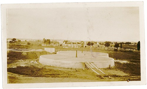 North Grafton STP -  The Filter Beds (25-10-1933)