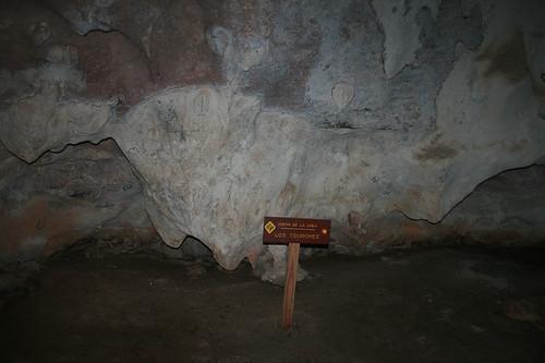 40 - Los Haitises national park - Cueva de la linea - Cave paintings / Los Haitises Nationalpark - Cueva de la linea - Höhlenmalereien