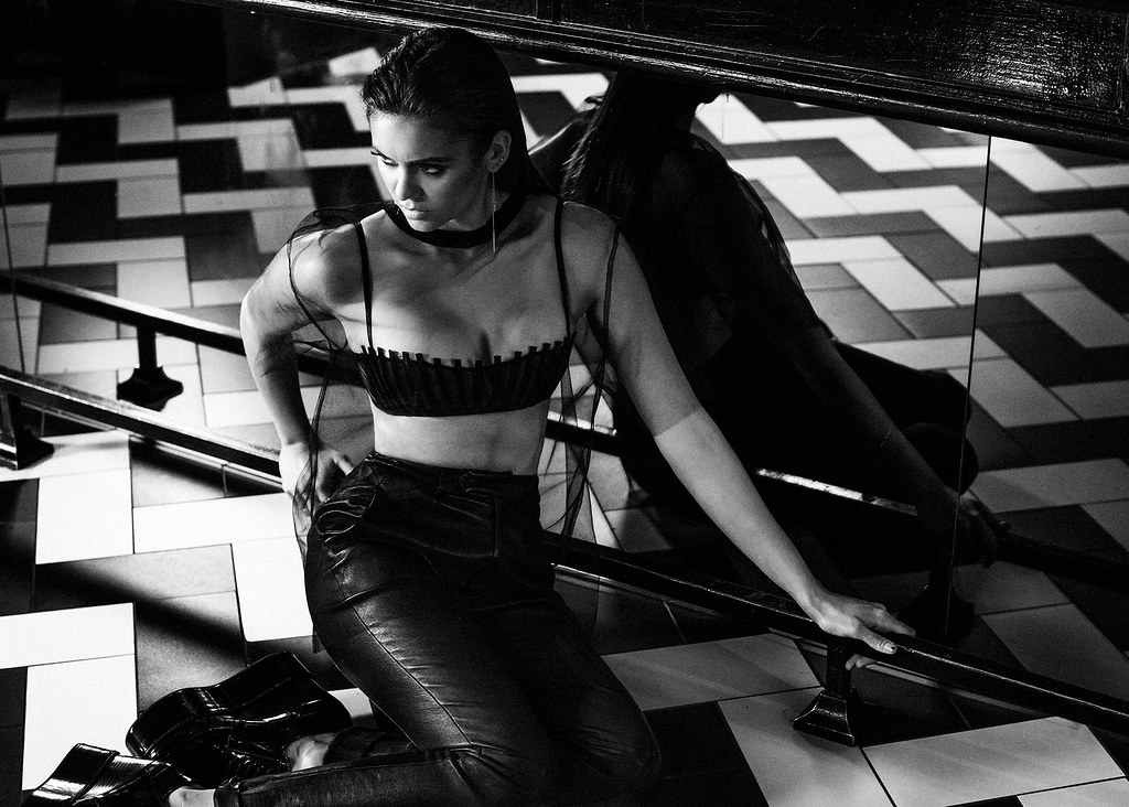 Нина Добрев — Фотосессия для «Interview» 2015 – 2
