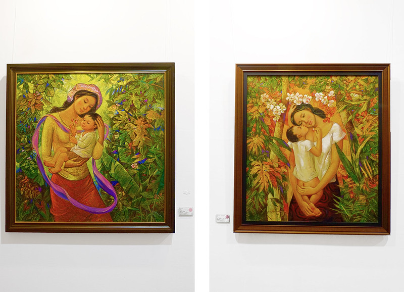 Manilart 2015 Oil Paintings from Gallerie CMG