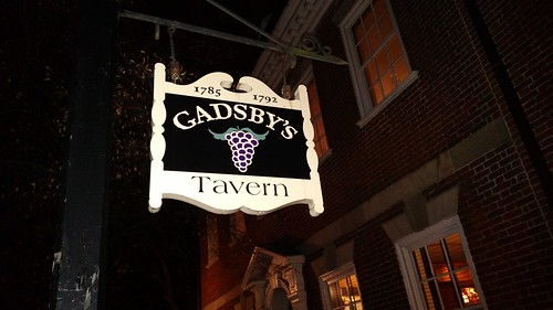 Gadsbys Tavern sign