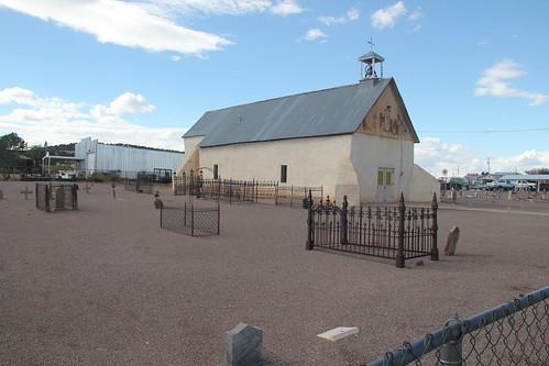 San Vicente de Paul Iglesia Catolica, Punta de Agua, NM