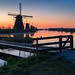 Sunrise @ Kinderdijk by Marcel Tuit | www.marceltuit.nl