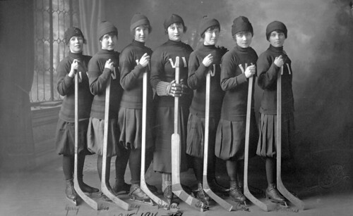 The Victorias, Women's Hockey Team
