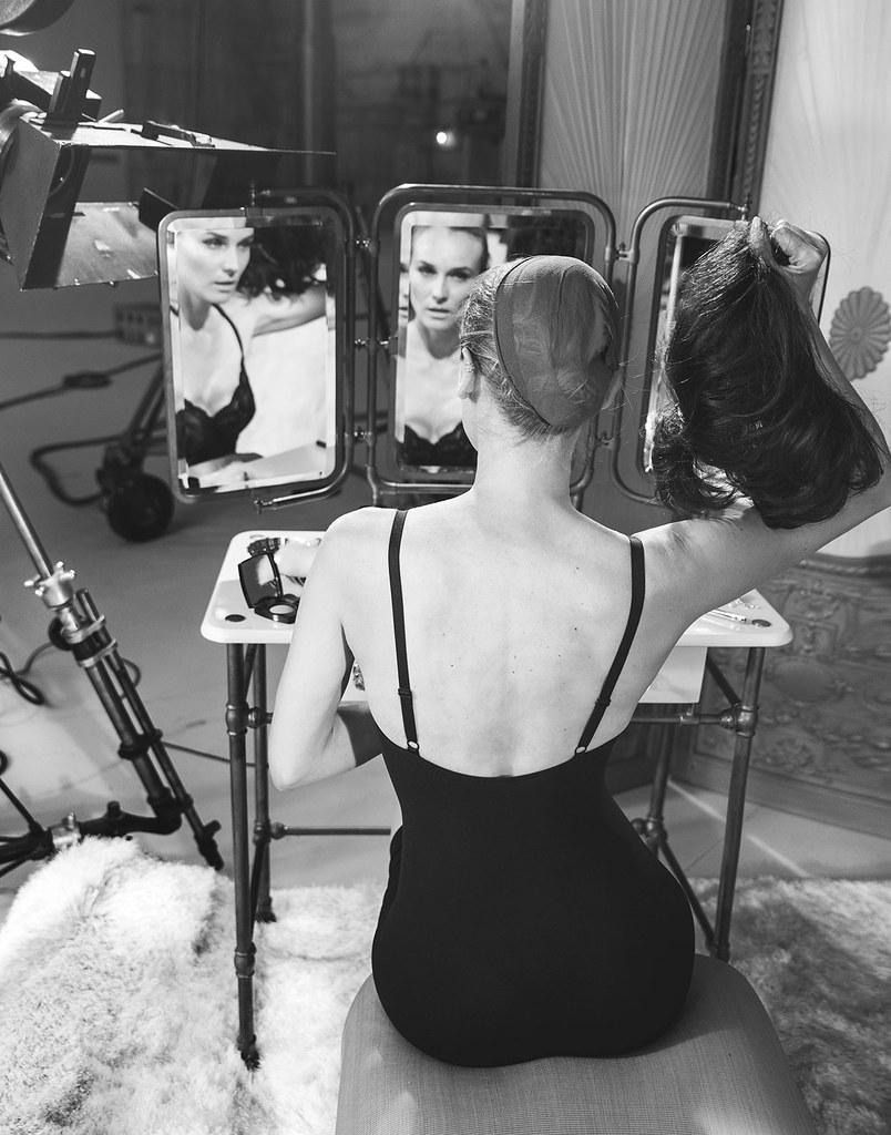 Диана Крюгер — Фотосессия для «Violet Grey» 2015 – 2
