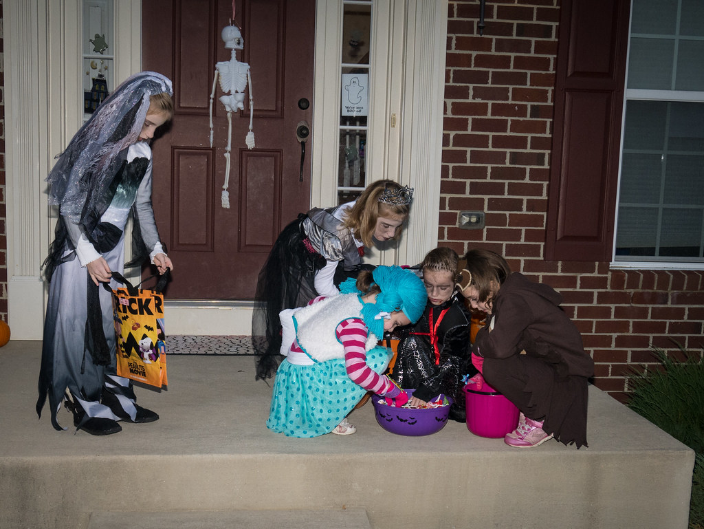 Trick-or-treating
