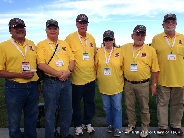 AHS Class of 1964 on Story County Freedom Flight October 6 2015