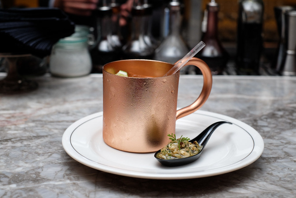 The Black Swan Cocktail Masterclass: Moscow Mule, also known as a Vodka buck