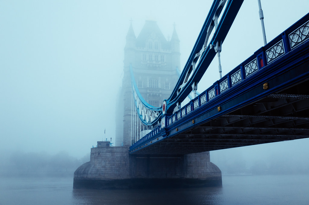 Foggy Tower Bridge