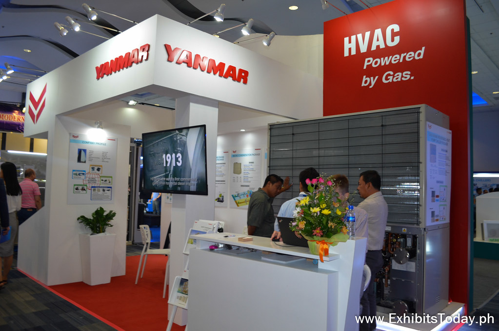 Yanmar Exhibit Stand