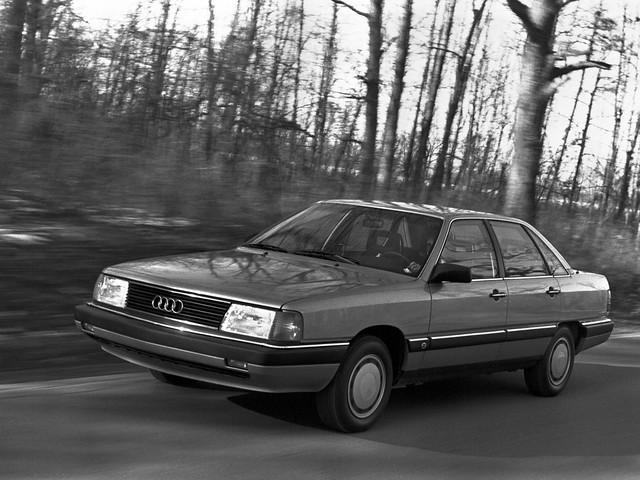 Седан Audi 5000S. 1986 – 1988 годы