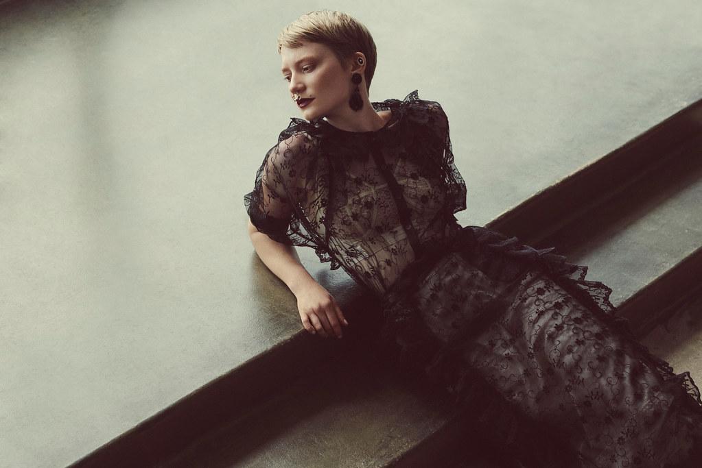 Миа Васиковска — Фотосессия для «Flaunt» 2015 – 3