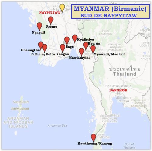 Trajet-Birmanie-Sud
