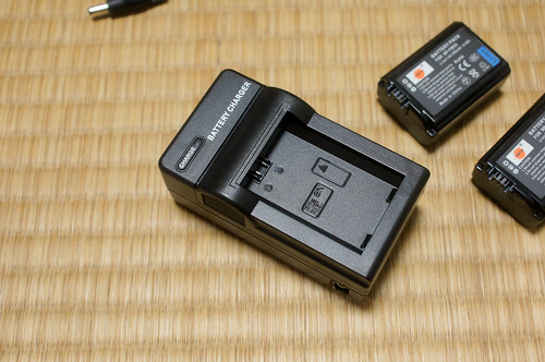 カメラの互換バッテリー