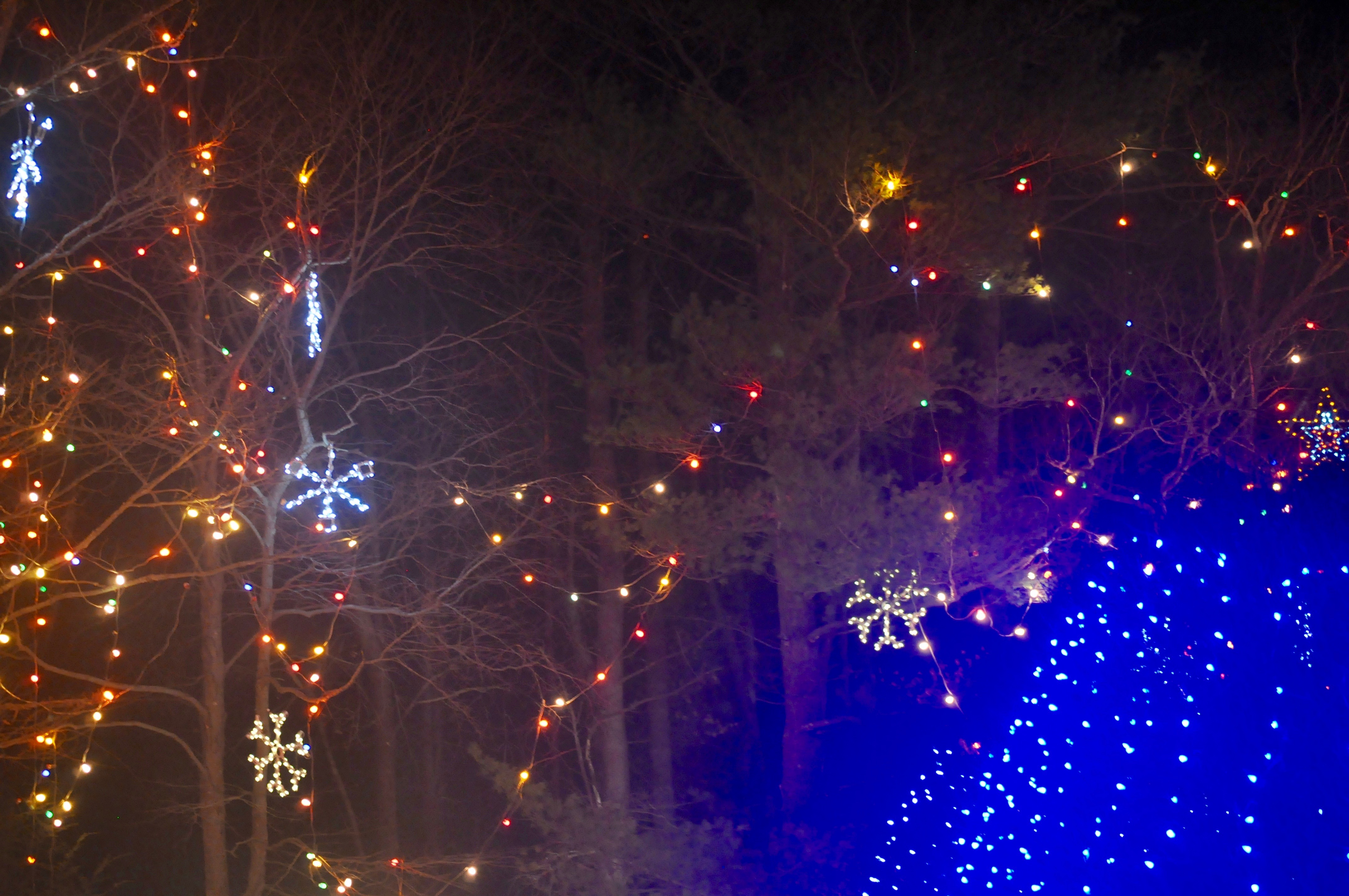 2015-12-19 - Our Lady of La Sallette Christmas Lights, Attleboro, MA