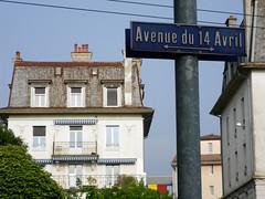 Avenue du 14 Avril