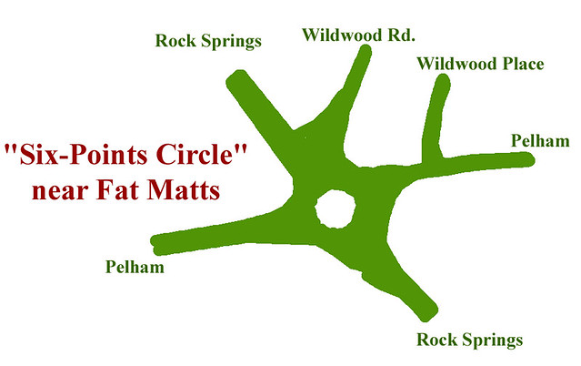 2015-11-30 Six Points Circle Rock Springs Pehlam Wildwood traffic calming Lenox Park