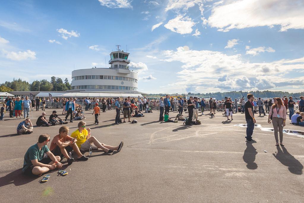Helsinki-Malmi Airport, FINLAND