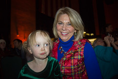 My daughter Hannah and Omaha Mayor Jean Stothert