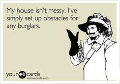 burglar obstacles