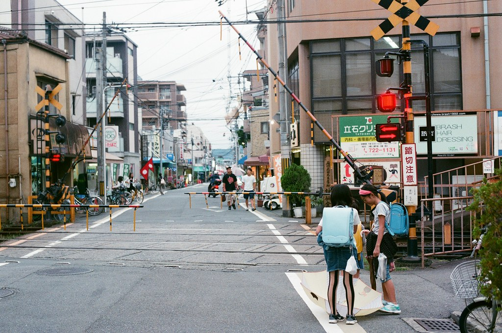 一乘寺 京都 Kyoto 2015/09/25 等火車,還沒要走,我想要逛逛另外一邊。  Nikon FM2 Nikon AI Nikkor 50mm f/1.4S AGFA VISTAPlus ISO400 0952-0016 Photo by Toomore