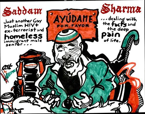 HOMELESS SADDAM SHARMA