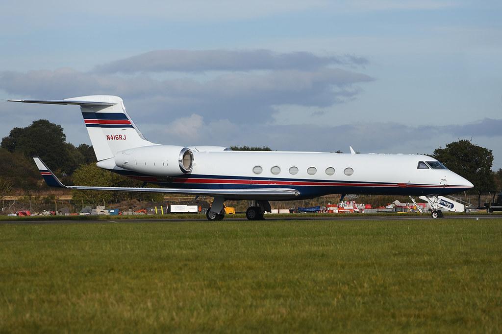 N416RJ - GLF5 - Eagles Airlines