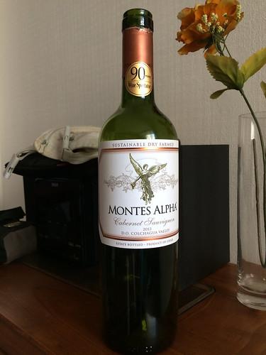 Santiago:  un très bon vin rouge chilien ;)