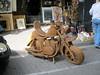 Rattan Motorcycle