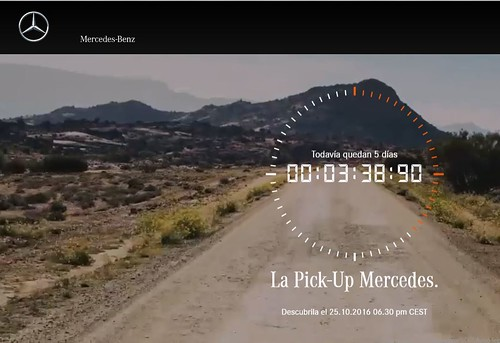 pickup mercedes countdown