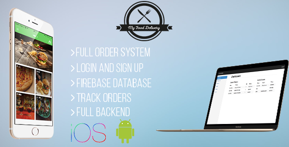 My Food Delivery v1.0 – Full Restaurant Orders With Backend