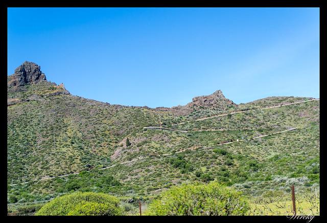 Tenerife Santiago del Teide acantilados los Gigantes Vilaflor - Carretera de Masca