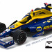 10767 - 1-64 2016 Indy500 Winner - #98 Alexander Rossi - Andretti, Curb Agajanian, NAPA (Front,High Res) by GreenLight Collectibles