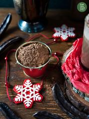 Hot carob 'chocolate'