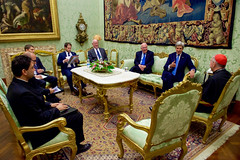 Secretary Kerry Meets With Vatican Secretary of State Parolin at the Vatican