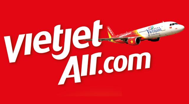 Vietjet Air.com_紅底白字+飛機