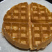 Fresh made waffle at Garden Kitchen