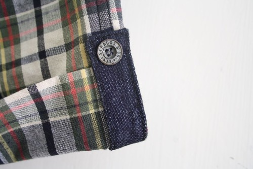 SEW - Madras checks shorts - Tab