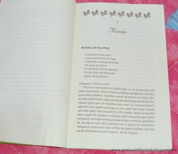 Resenha, livro, O Clube do Biscoito, Ann Pearlman, amizade, receita, Bertrand, trechos