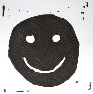 5 Durer - Block Printing - Smile - O