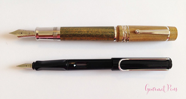 Review Delta Vespucci Encore Argento Wood LE Fountain Pen @ChatterleyLux (5)