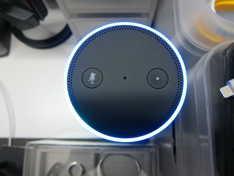 Amazon Echo - Powered On