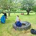 chillin' at the picnic spot
