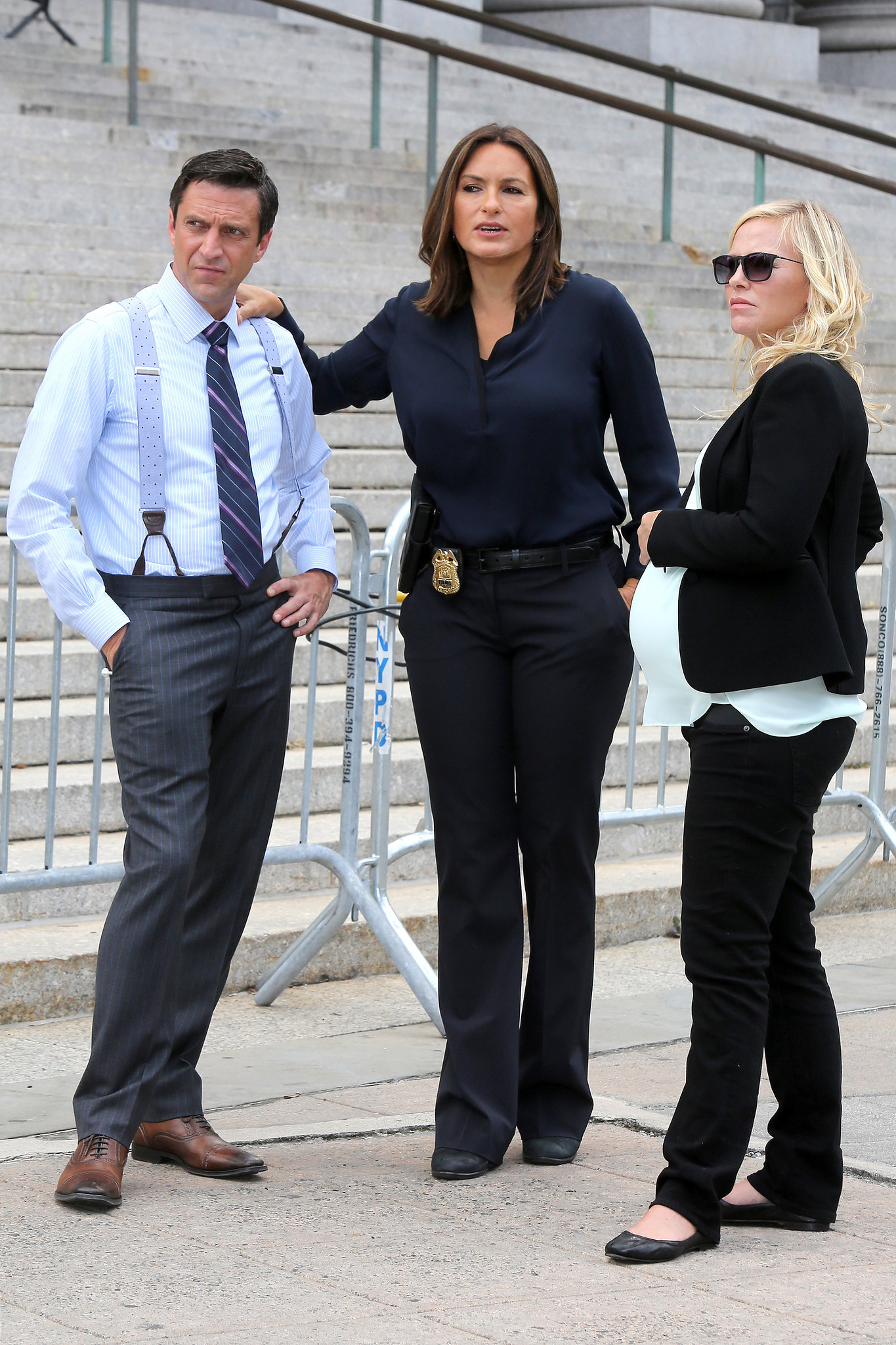Back to post mariska hargitay at law and order set in ny - Uk Clients Must Credit Akm Gsi Only New York Ny Mariska Hargitay And Cast On The Set Of Law Order Special Victims Unit Pictured Mariska Hargitay