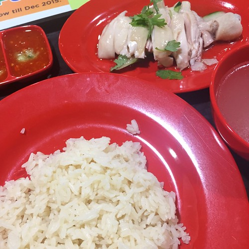 Hao Xing Fu Chicken Drumstick Rice at Dunman Food Centre