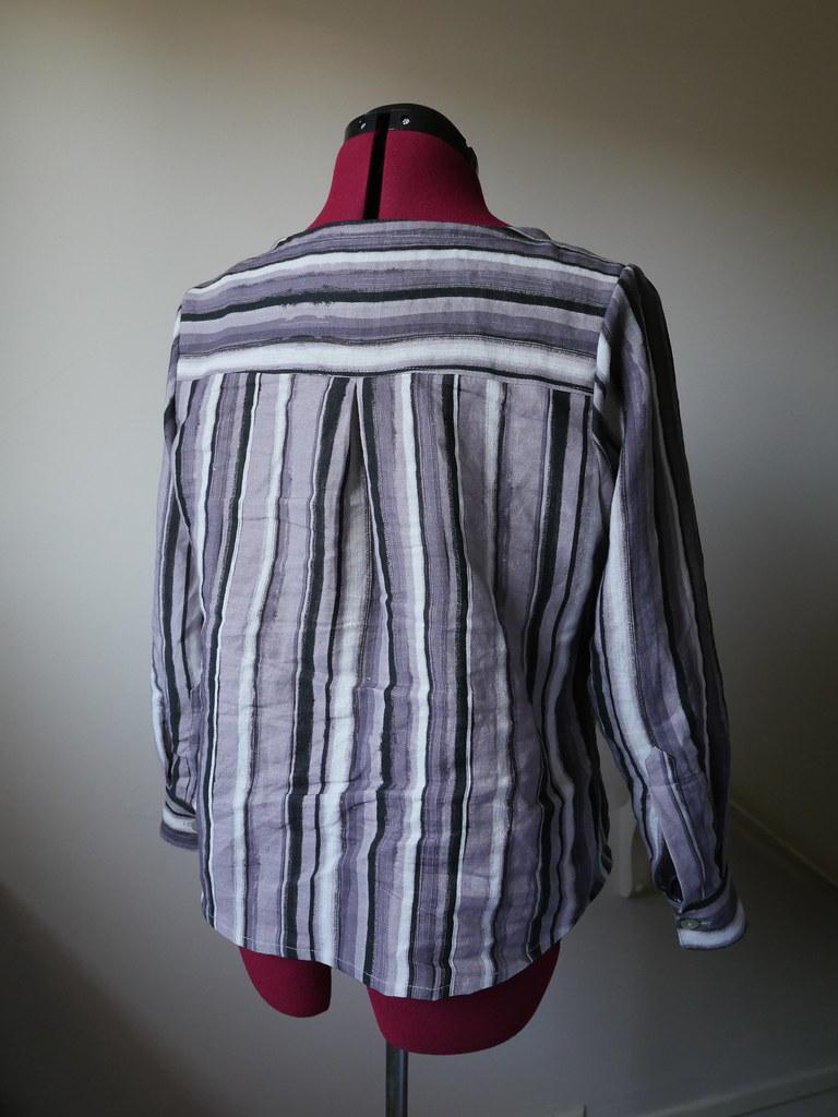 Linen Aster - Back